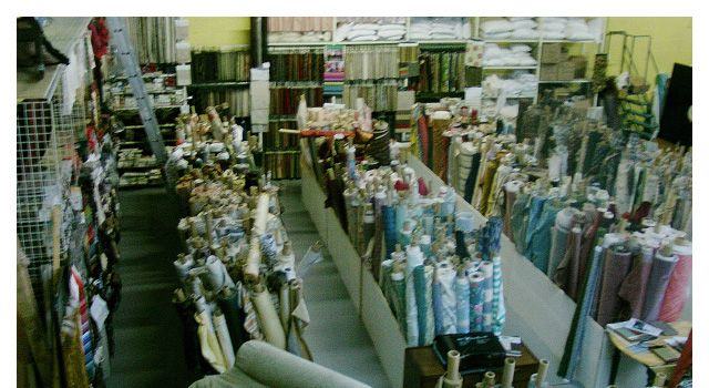 Wide selection of fabrics